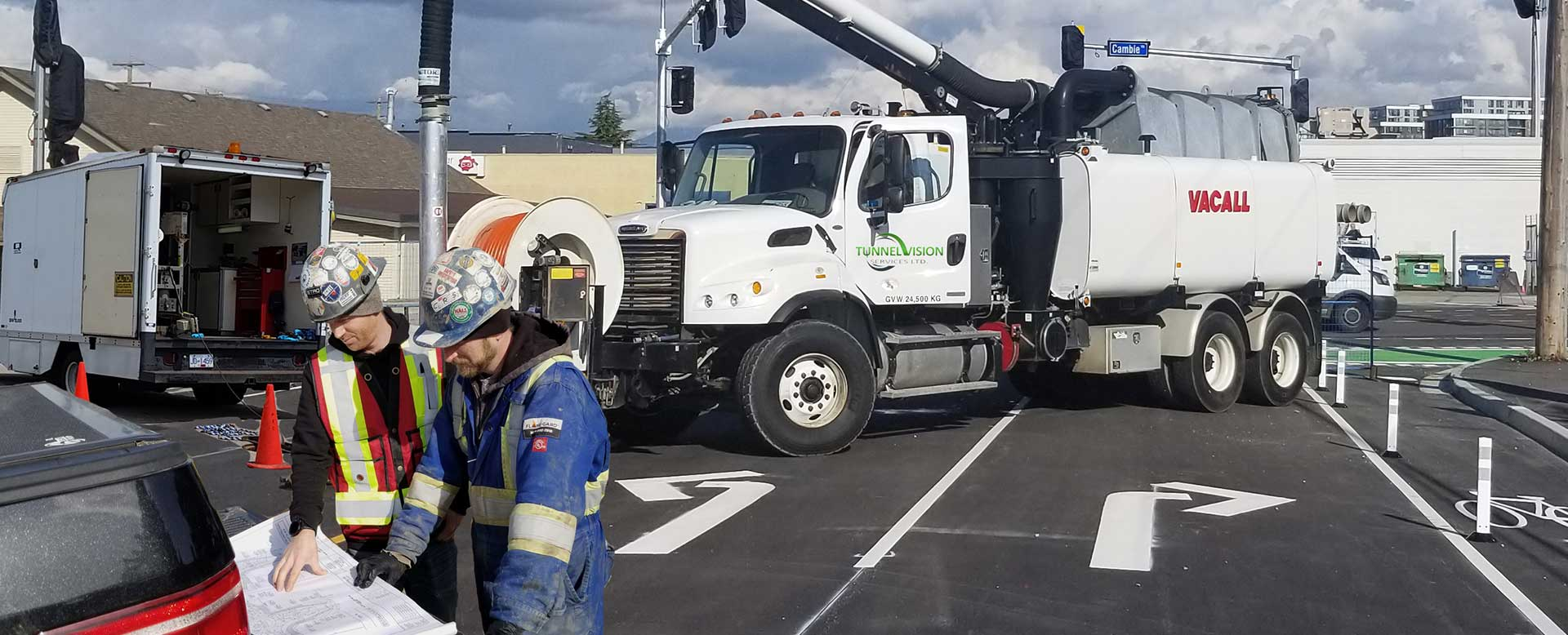 Langley City CCTV Pipe Inspection, Hydro Excavation and Hydro Excavation Company